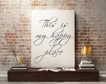 Wall art prints - Typography print, printable art, wall art quote, printable quotes, Bathroom art print