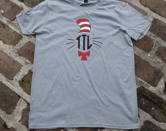 Personalized Cat and the Hat shirt