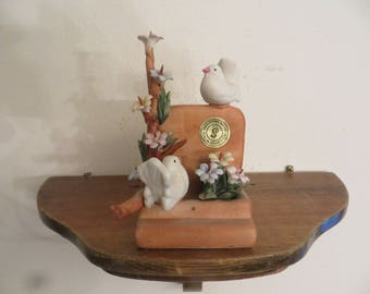 Capodimonte Creazioni Savastano Made in Italy Doves Figurines