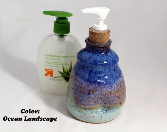 Liquid Soap Dispenser In 5 Colors