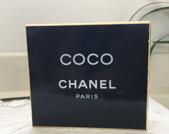 Vintage revival of Coco by Channel parfum set