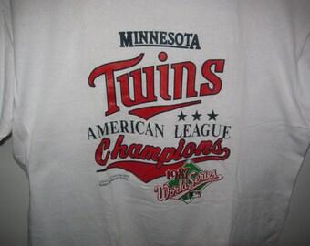 Twins 1987 World Series T-Shirt