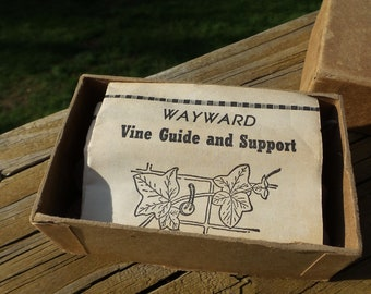 Vintage Wayward Vine Guide and Supports