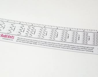 Ann Budd Gauge Ruler