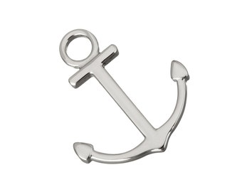 Anchor nautical pendant stainless steel DIY necklace pendant