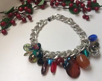 Statement chain necklace