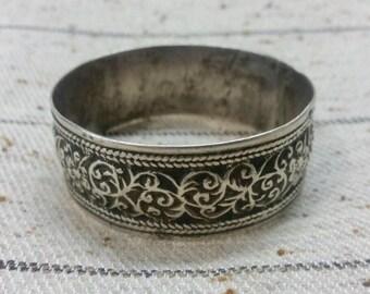 Old Moroccan Silver Berber Bracelet