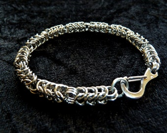 Broken Box chain Stainless Steel (4mm) Chainmail Jewellery Bracelet
