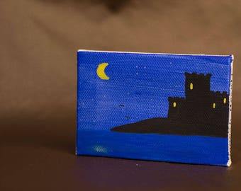 Dark Castle miniature painting