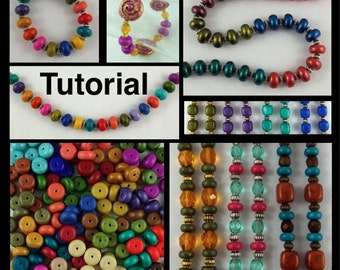 Tutorial:  Make Your Own Rondelle Spacer Beads