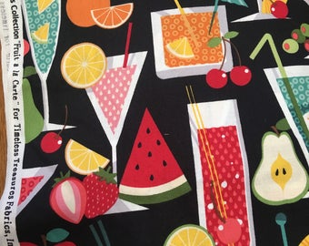 4 yards of Fruit A La Cart Fabric by Timeless Treasures