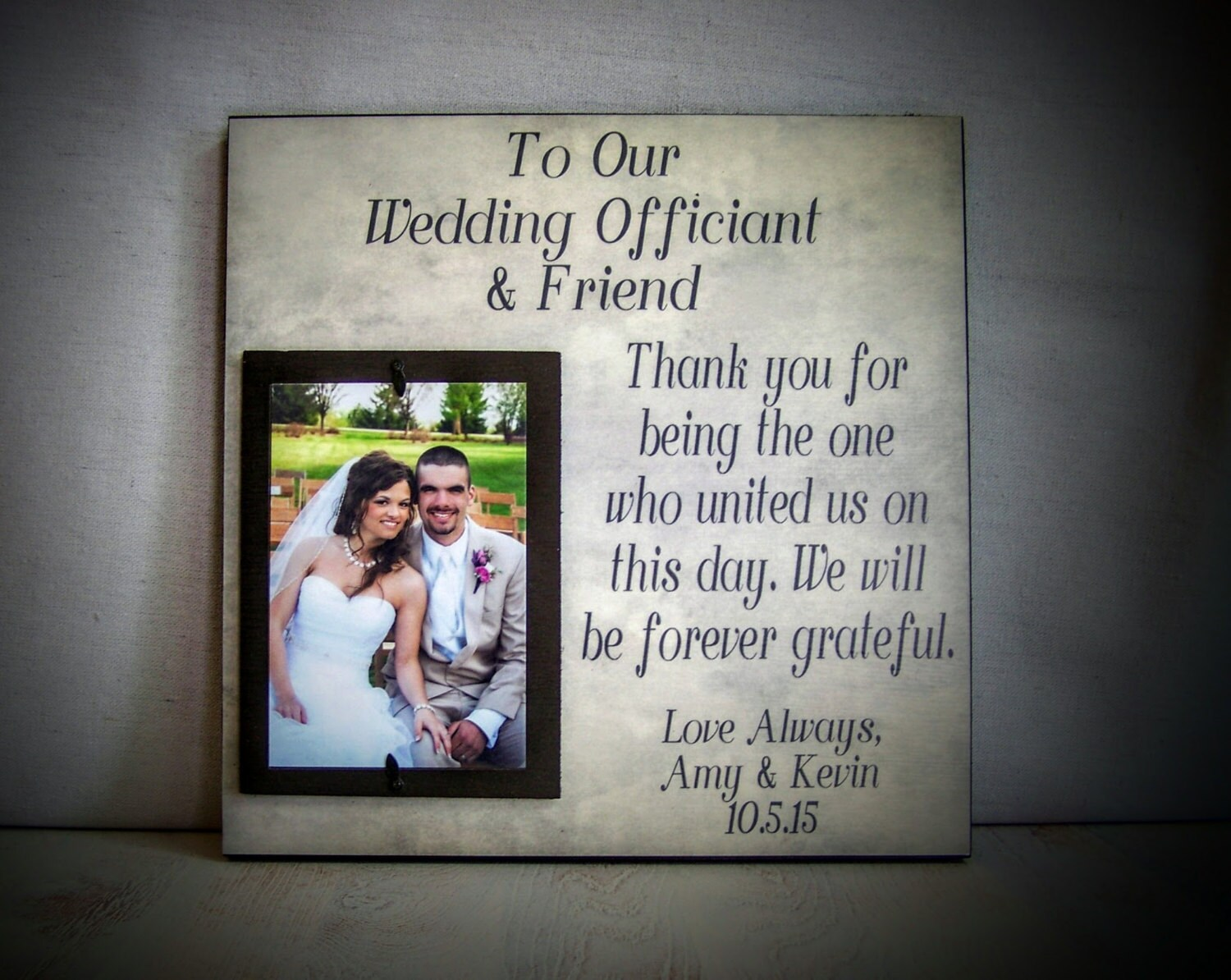 Wedding Officiant Gift Perfect For The Friend