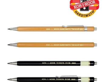 Koh I Noor mécanique au crayon 2 mm embrayage Marstechno tout en métal versatile Toison D ou 5900, 5201