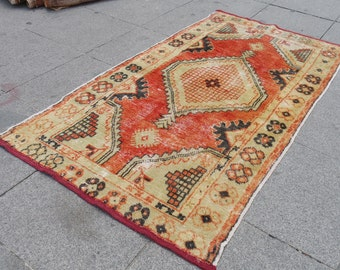 deCoR tUrKISh rug, rug decoration small, rug runner oushak rug, small hallway rug, runner room rug,  601