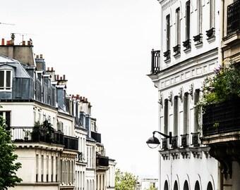 Paris Photography - Paris Rooftops - Wall Art Print - Paris Decor - Architecture - Fine Art Photography  - Parisian Style - 0002
