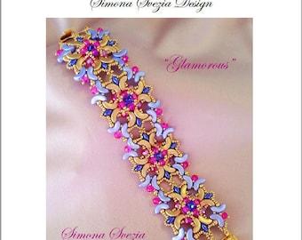 """TUTORIAL """"GLAMOROUS"""" bracelet"""