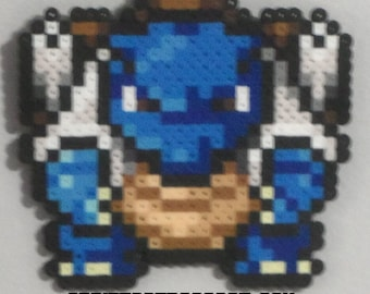 Blastoise pixelated wall art