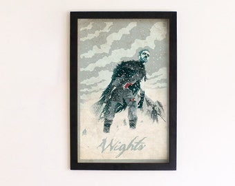 Game of Thrones - Wights print