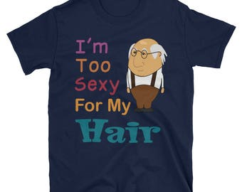 Bald Guy Shirt, Funny Balding Shirt, Funny Gift, Dad Present, Shirt For Grandpa, Gag Shirt, Grandpa Funny T-Shirt
