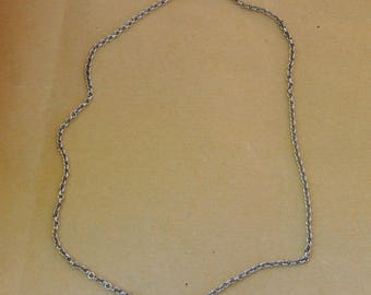 Necklace chain with clasp 50 cm silver neck chain
