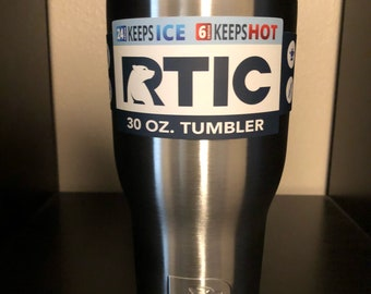 Rtic 30oz Tumbler Stainless Steel