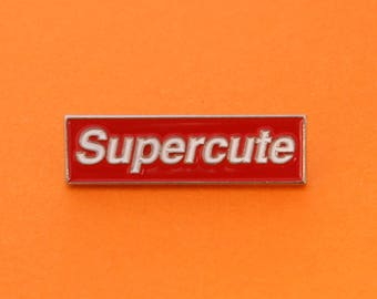 Supercute Enamel Pin
