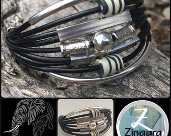 TRIBAL Zebra Mini Cuff