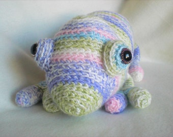 Crocheted Softie Carmen Cameleon