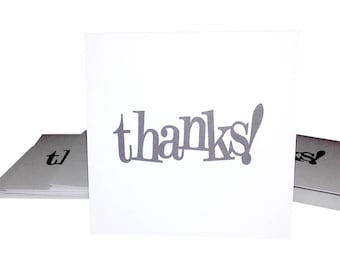 Blank Mini Card Set of 10 / Thank You Cards/ Thanks Mini Card/ Stationery Card Set/ Mini Card Set/ Mini Cards/ Lunch Box Notes