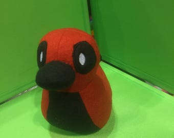 Deadpool Rubber Ducky Duckpool Plush Toy