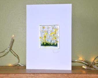 Daisy Card - Blank Inside