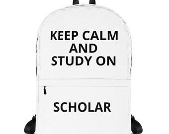 Blk Study On Scholar Backpack