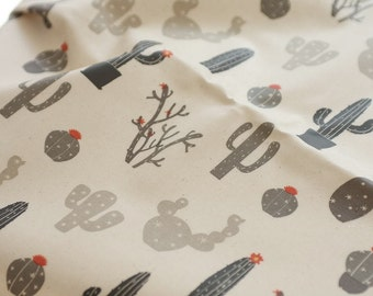 Laminated Cotton Fabric - Cactus - By the Yard 83637