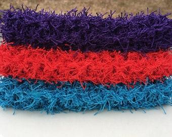 Scrubby Set, scrubbies, knit scrubbies, scrubby washcloths, Dish cloths, Knit Washcloth, Knit Dishcloth, Face cloth, wash cloth, scrubbie