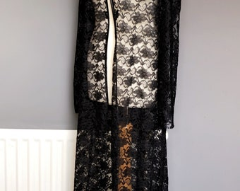 Luxury Lace Gown/Robe