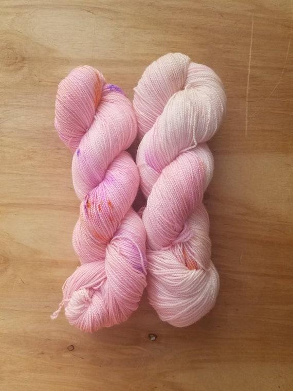 Pink Tulips - Everyday - Superwash Merino Nylon - 460 yards