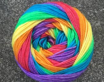 Self Striping Sock Yarn - Prismatic