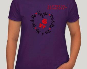"ECARLATE""Valentine's Day"" Ladies Purple"
