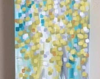 "ORIGINAL Painting ""Golden Lights"""