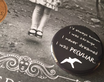 Peculiar Children Buttons | pins | miss peregrine's home for peculiar children