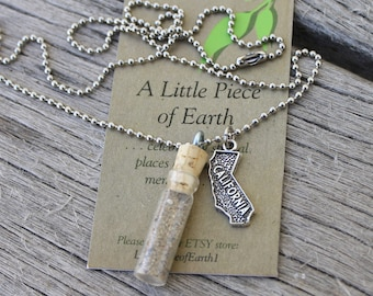 Pick Your Own Soil/Sand Necklace