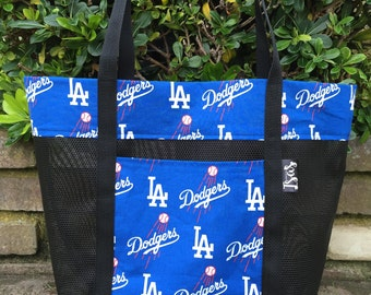 LA Dodgers Reusable Tote Bag, Market bag, Grocery Bag, Everyday Tote, Beach Bag
