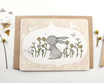 30% OFF - 10 Notecards - I Love Spring Time