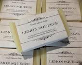 Lemon Squeeze Soap, Handm...