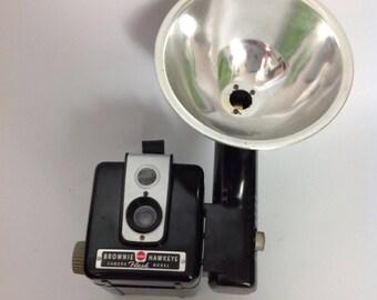 Vtg Kodak Eastman Hawkeye Camera | Flash | Vintage Photography | 50s 60s 1950s 1960s | Photography Photographer Photograph Photo