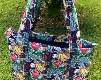Disney Beauty and the Beast Tote Bag Purse