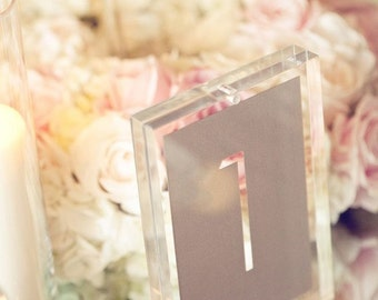 Custom listing for teenu  Basic table number Die cut 1-35 in metallic