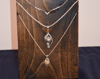 Necklace Display / Necklace Stand / Necklace Holder Collapsible display / Trade Show Display / Craft Show Display / Store Display/