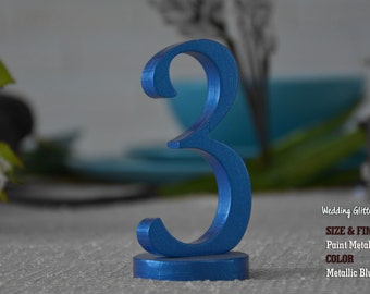 SET 1/15, Table Numbers for Wedding