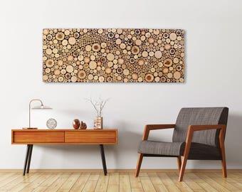 Wood slice wall art | Etsy